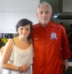 Athur Corr with His Niece Shannon Corr