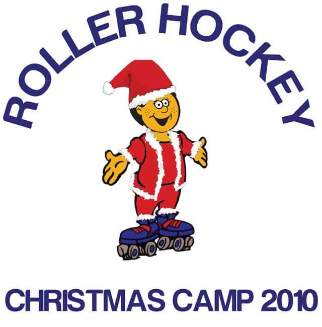Christmas 2010 Roller Hockey Camp Logo