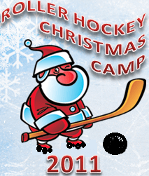Christmas 2011 Roller Hockey Camp Logo