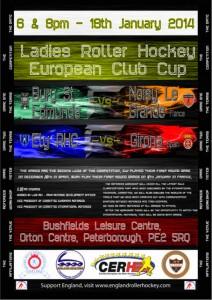 Ladies European Cup Poster