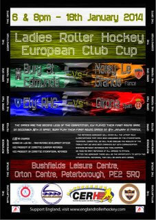 Ladies European Cup Poster