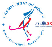 Logo for the Ladies 2014  World Championships this year