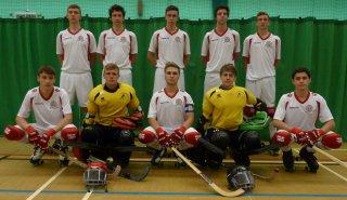 England's 2014 u20 Junior Roller Hockey Team