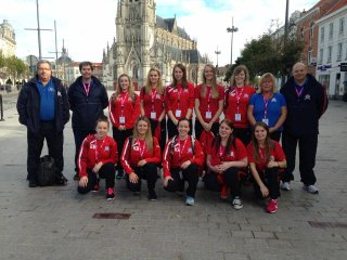 England Ladies in Tourcoing 25th October 2014
