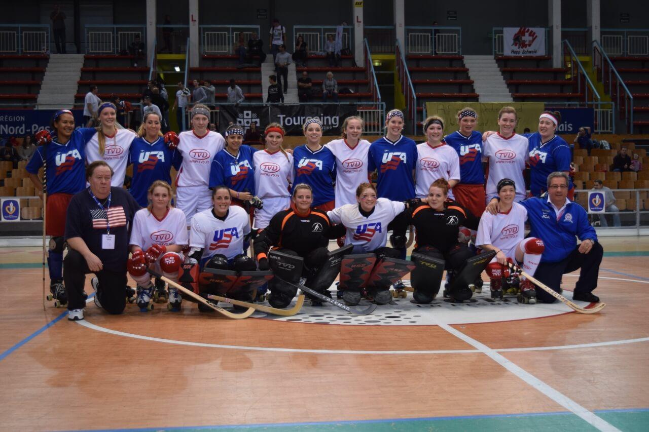 England & USA Teams 2014 World Championships