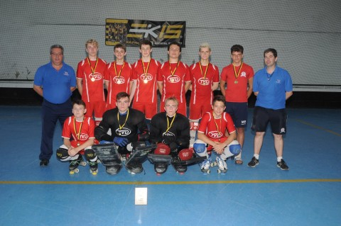 England u17's Paco do Rei Tournament Winners July 2015