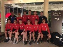 England U20'S Arrive In Switzerland