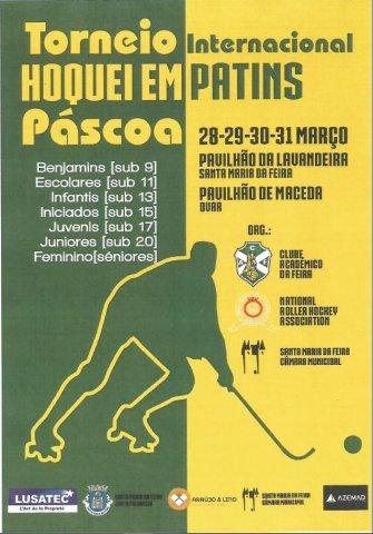 Cartaz Torneio Pascoa